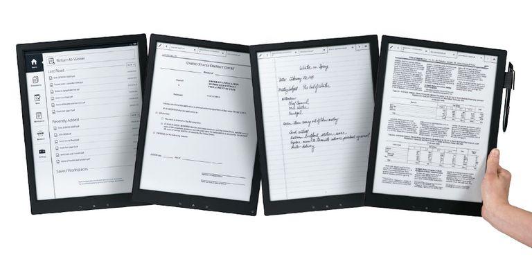 La idea del dispositivo es reducir el uso de papel en la oficina