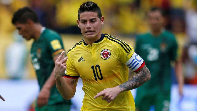 James le dio el agónico triunfo a Colombia