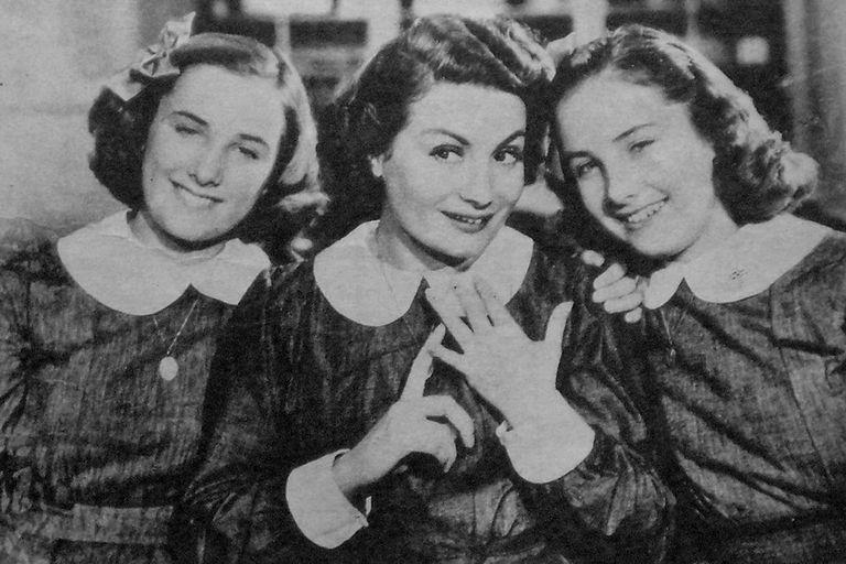 Hay que educar a Niní, el debut de las hermanas Legrand junto a Niní Marshall
