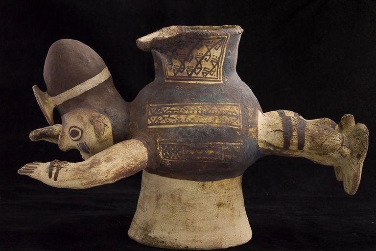 Una de las piezas de arte precolombino de la colección de Nicolás García Uriburu