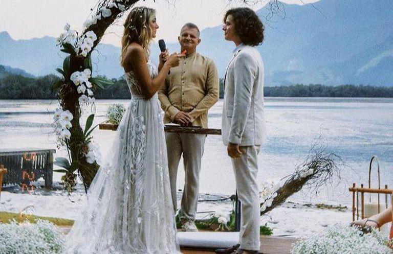 La boda soñada de Sasha Meneghel, la hija de Xuxa, a orillas del mar