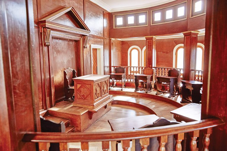 Una de las cámaras de la Legislatura