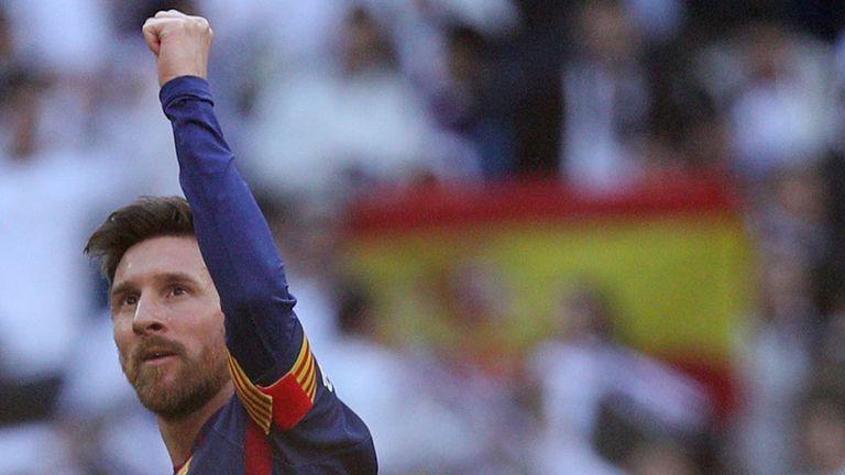Messi, el máximo goleador del año y con récord europeo