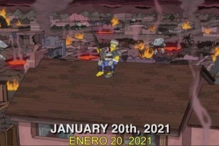 Los guionistas de Los Simpson tienen la capacidad de plantear hechos y situaciones en la ficción que terminan, años más tarde, teniendo su correlato en la vida real