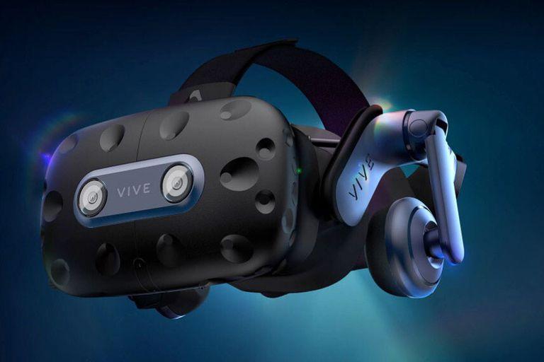 Un casco de realidad virtual HTC Vive Pro 2