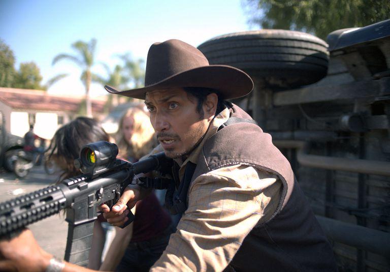 El actor Tenoch Huerta en una escena de La purga por siempre