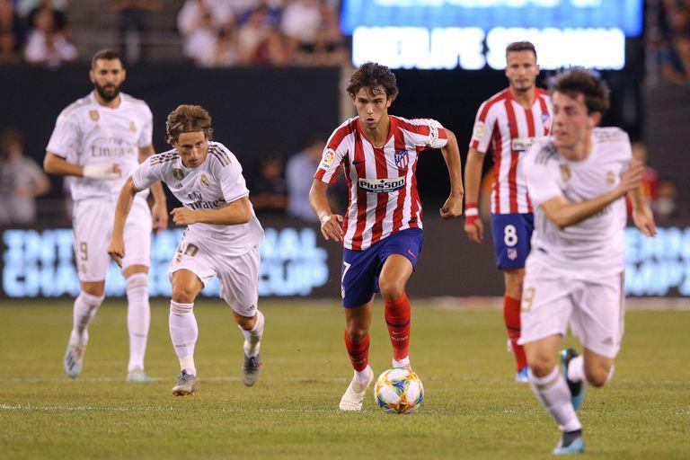 Atlético de Madrid y Real Madrid: el recuerdo de una final
