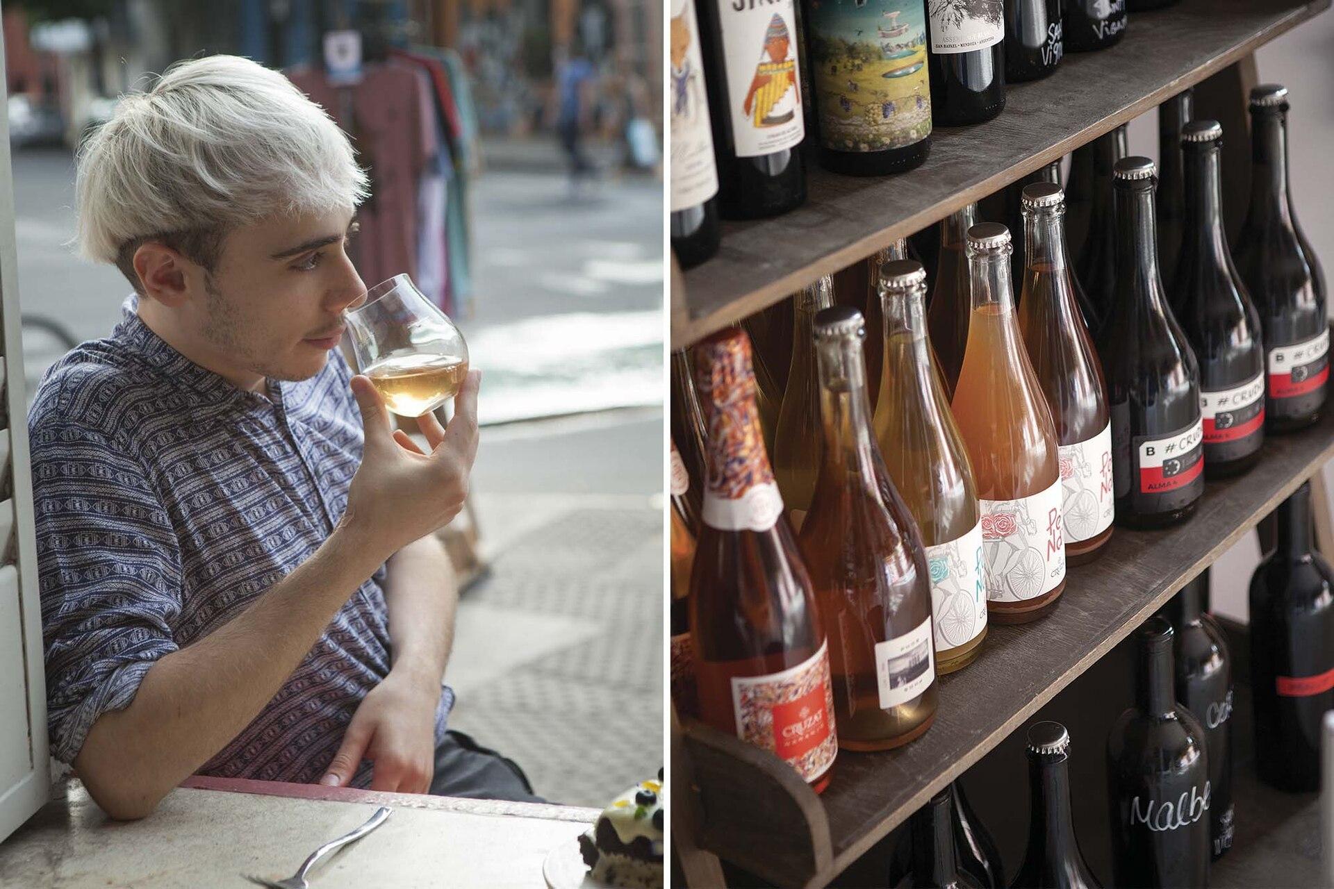 Ofrecen distintos formatos, desde la tradicional botella hasta vino por copa y tirado.