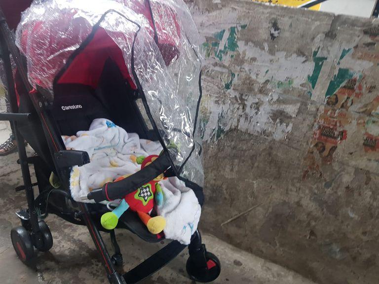 El cochecito en el que la mujer condenada escondía la droga que vendía en la villa 31