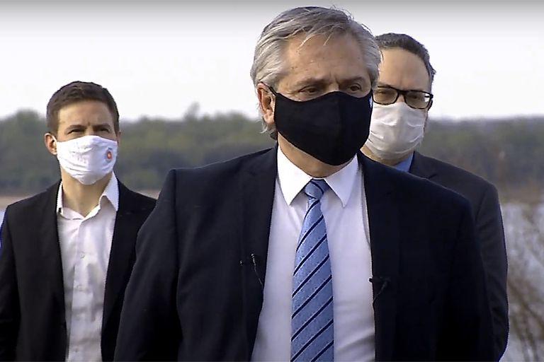 El presidente Alberto Fernández encabezó el acto del que participaron siete gobernadores y cuatro ministros
