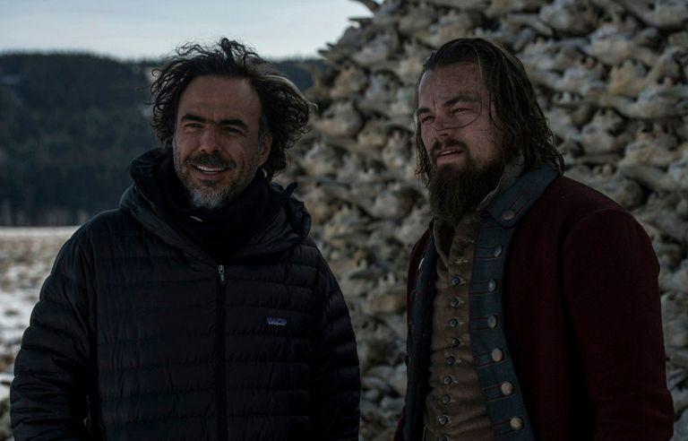 Junto a Leonardo DiCaprio
