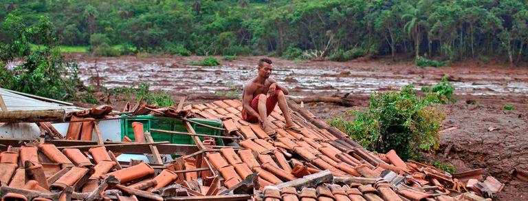 En fotos: la búsqueda de desaparecidos tras el colapso del dique en Minas Gerais
