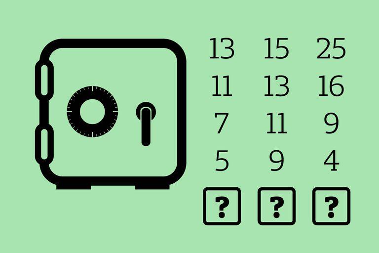 Prestá atención a lo que ocurre en cada una de las columnas y podrás descifrar el código