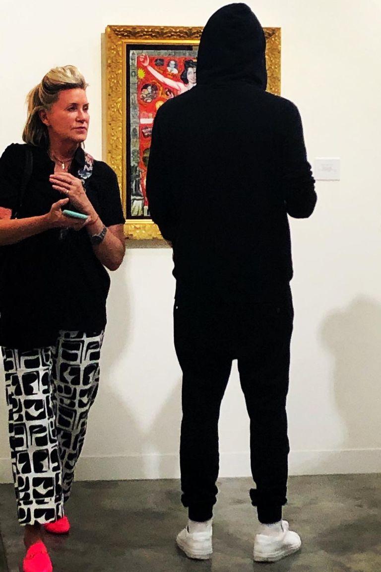 Leonardo DiCaprio en Art Basel Miami, en diciembre último