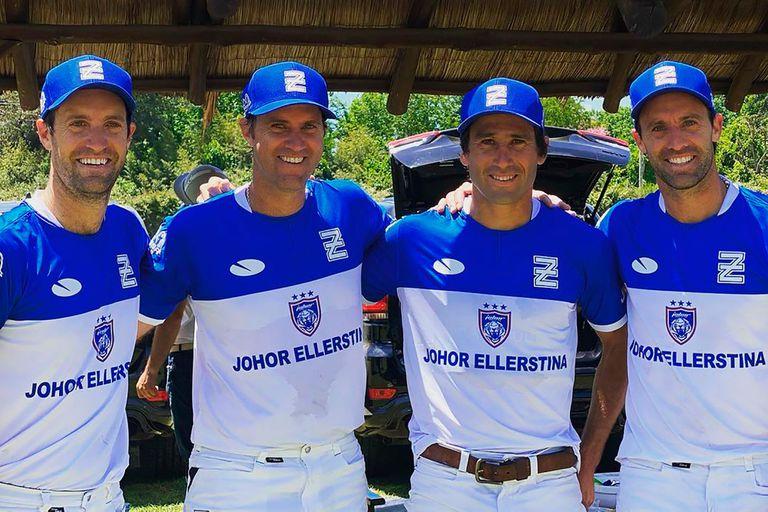 Como nunca en los últimos diez años, Ellerstina es el favorito para el Argentino Abierto, pero Nicolás y Gonzalo (h.) Pieres, Hilario Ulloa y Facundo Pieres no piensan en chances; se mentalizan en cada partido y no más allá.