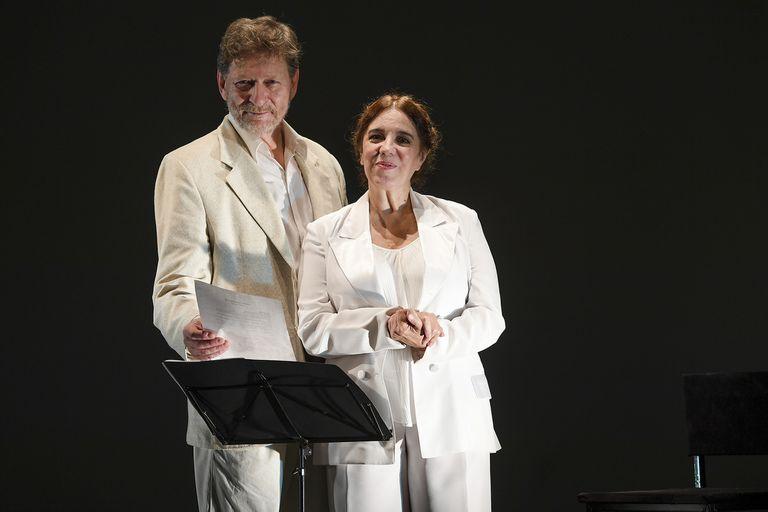 Osmar Núñez e Ingrid Pelicori en una obra epistolar sobre dos figuras emblemáticas del cine mundial