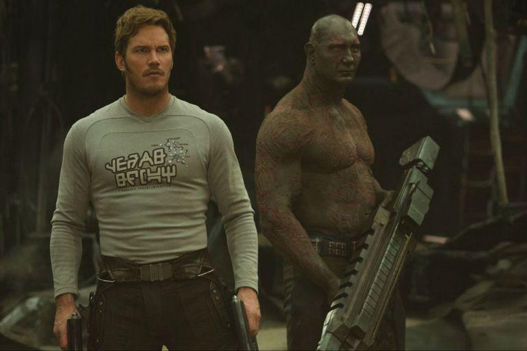 Chris Pratt y Dave Bautista, protagonistas de Guardianes de la galaxia, pidieron por la vuelta del director en numerosas oportunidades