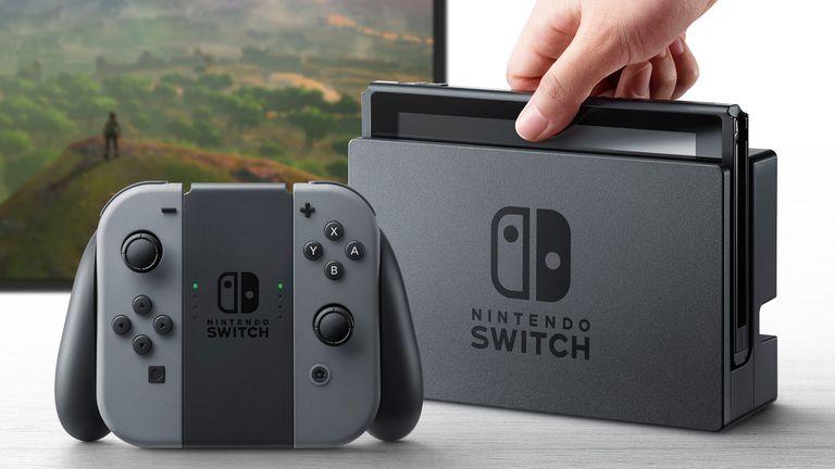 Una Nintendo Switch: vendió 10 millones en diez meses