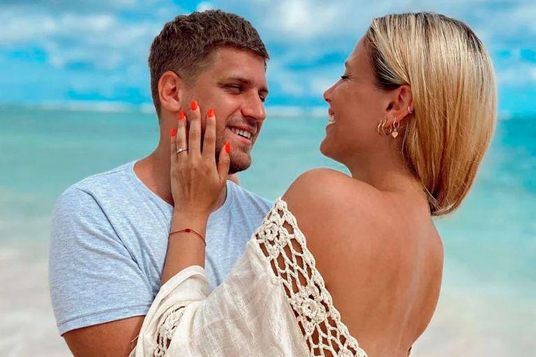Barbie Vélez anunció su casamiento con Lucas Rodríguez desde Punta Cana