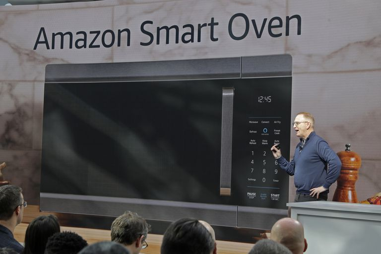 El Smart Oven, a 249 dólares, es el sucesor del microondas AmazonBasics que la compañía anunció el año pasado