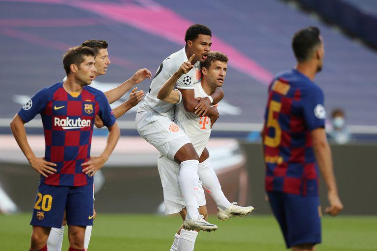 Bayern Munich aplastó a Barcelona