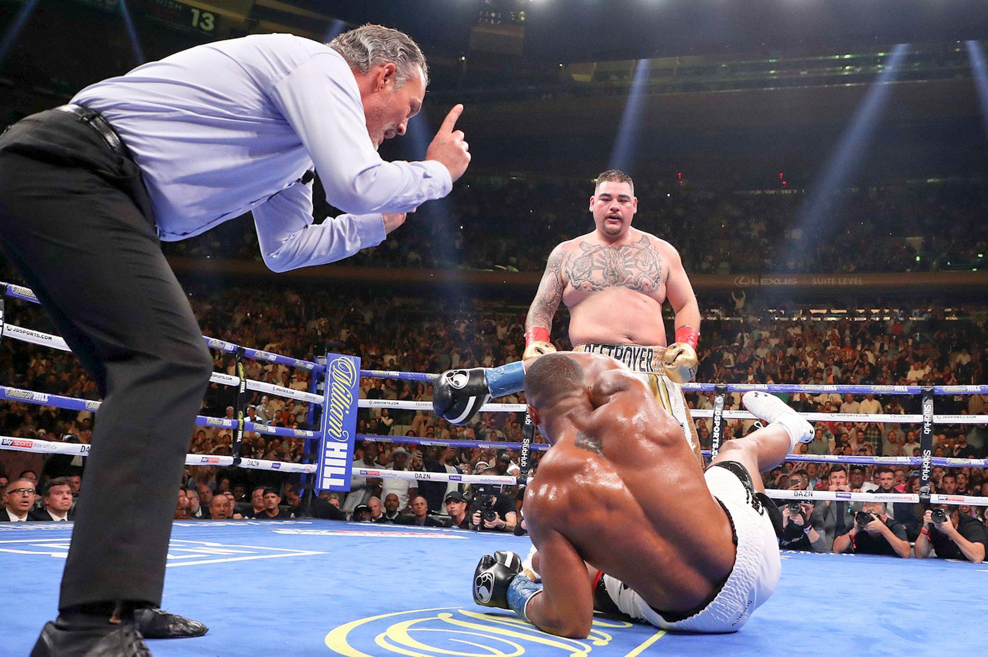 Andy Ruiz Jr gana su pelea ante Anthony Joshua en Nueva York y se corona como campeón mundial