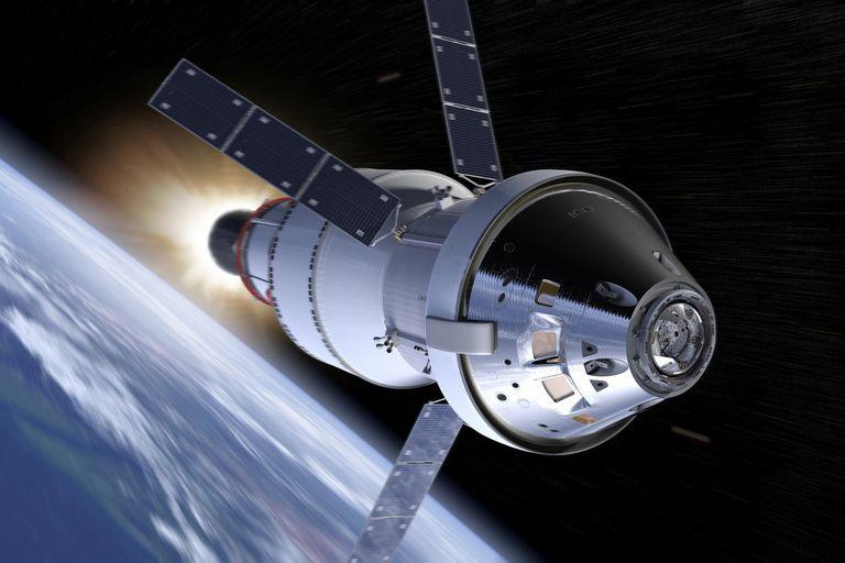 """Orión, una nave diseñada en colaboración con la Agencia Espacial Europea, será el vehículo para el viaje """"legendario"""" que pretende seguir el curso del cosmos hasta Marte y otros recónditos lugares del """"espacio profundo"""""""