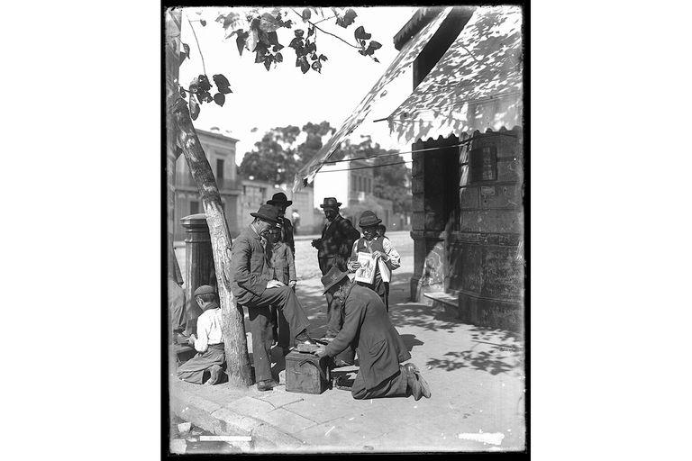Una viñeta porteña de Harry Grant Olds, tomada en 1901 en Barracas
