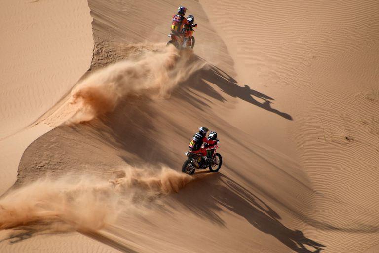 Rally Dakar: Benavides cedió el liderazgo y Toby Price empieza a pisar fuerte