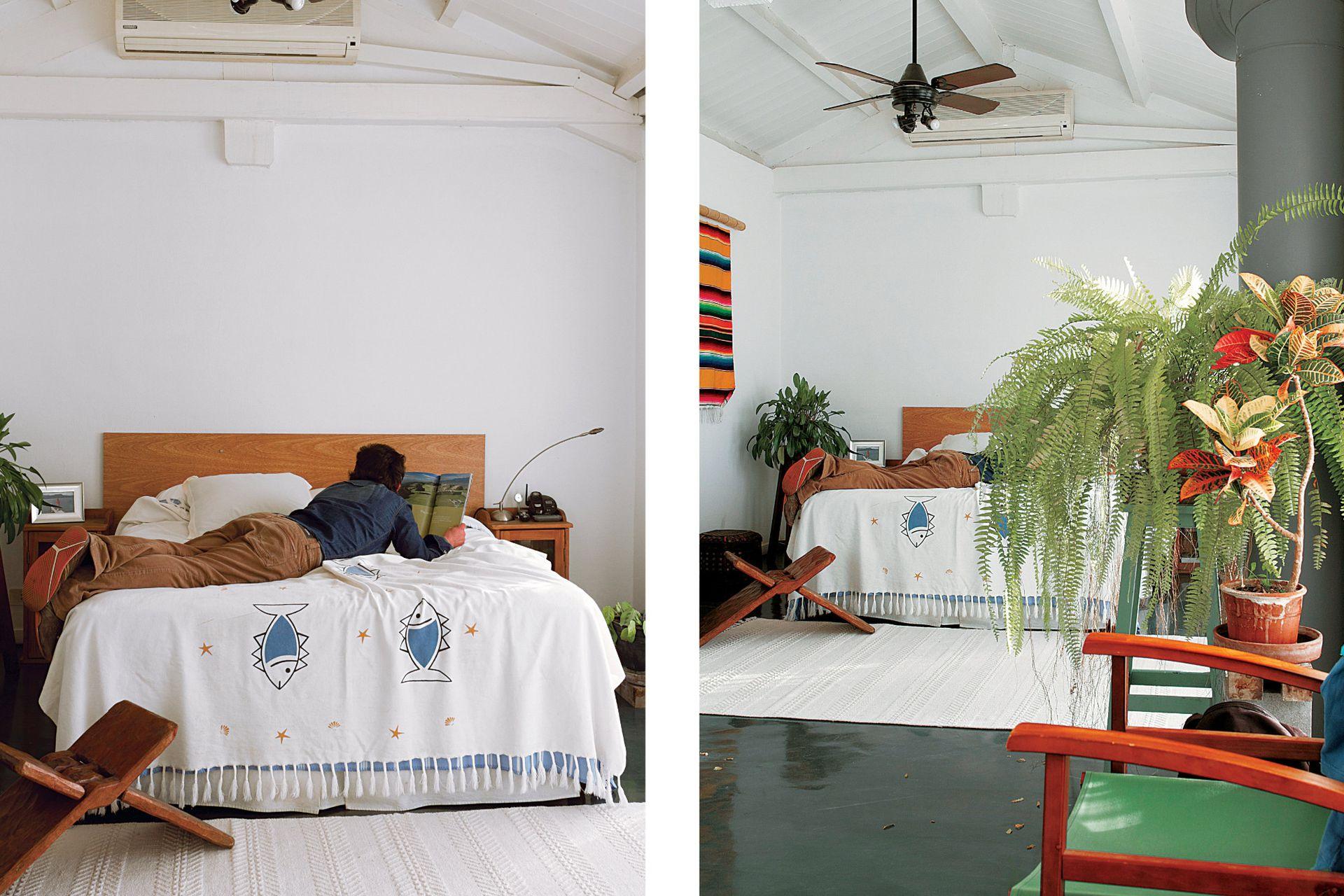 Del dormitorio, Javier destaca la vista y la amplitud.