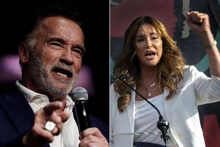 """Schwarzenegger dijo que Caitlyn Jenner tiene """"posibilidades"""" de ser gobernadora"""