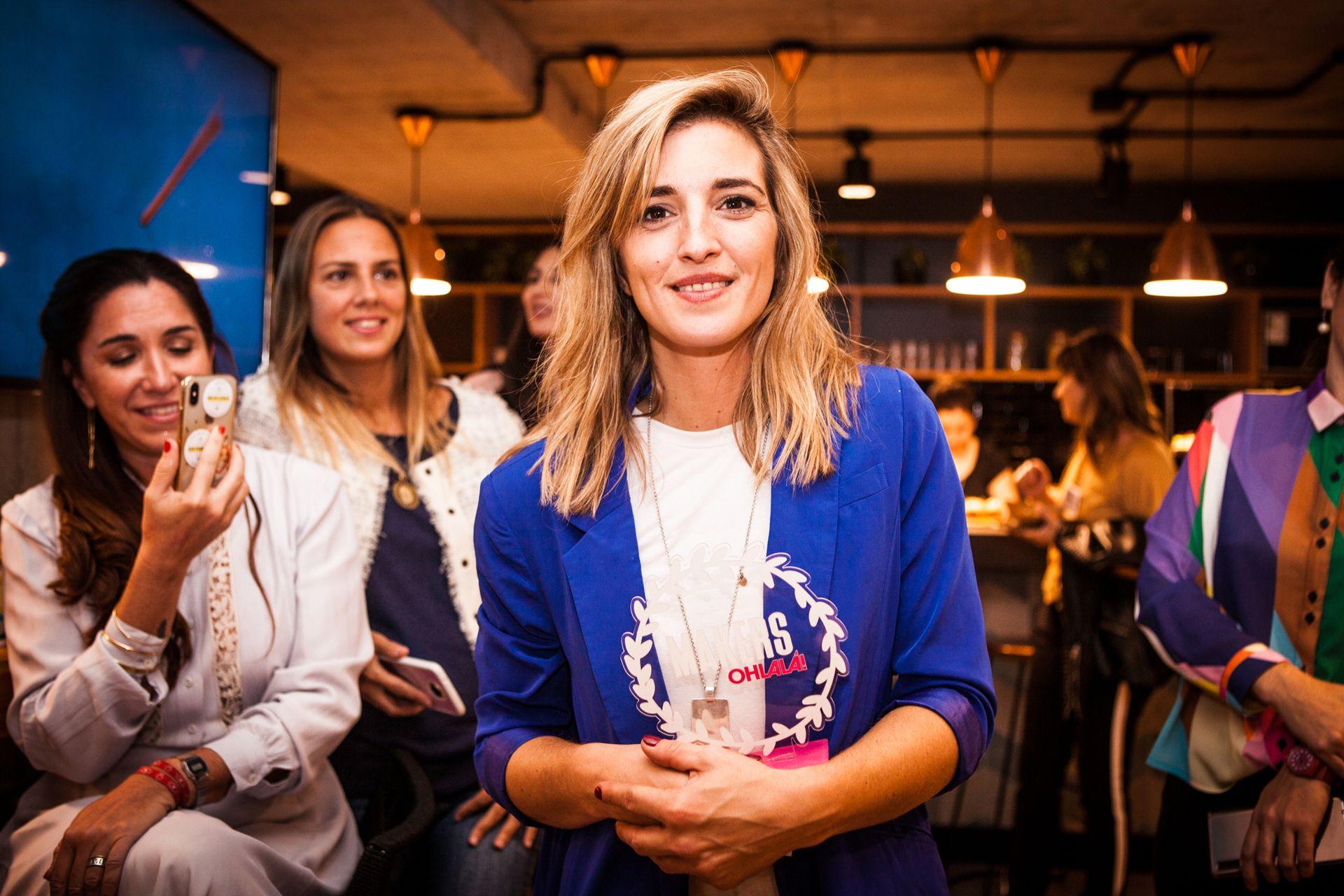 Berni Siutti, alias @mami.albanil, fue la chica de tapa de OHLALÁ! de abril y se llevó el premio a una de las emprendedoras más inspiradoras e influyentes.