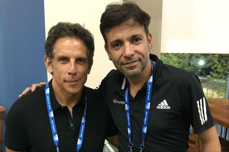 El encuentro entre Ben Stiller y Martín Bossi y el proyecto que los juntaría