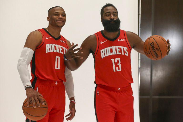 Westbrook y Harden, una pareja fuerte para los Rockets