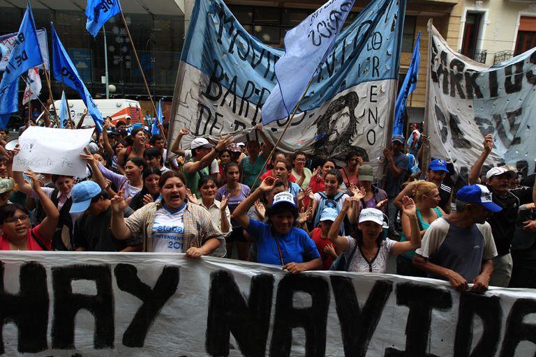La agrupación Barrios de Pie participará mañana de la marcha de la CTA opositora de Pablo Micheli a Plaza de Mayo, para reforzar su pedido