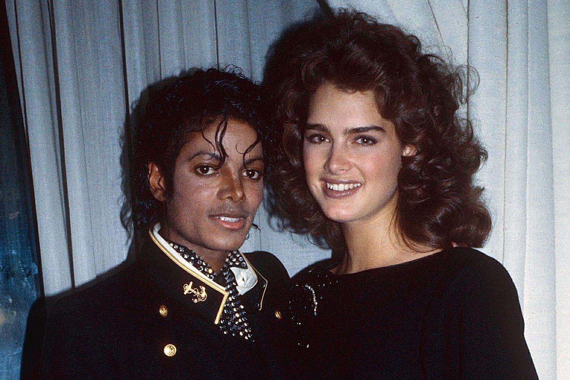 Michael Jackson y Brooke Shields fueron grandes amigos pero nunca tuvieron un romance