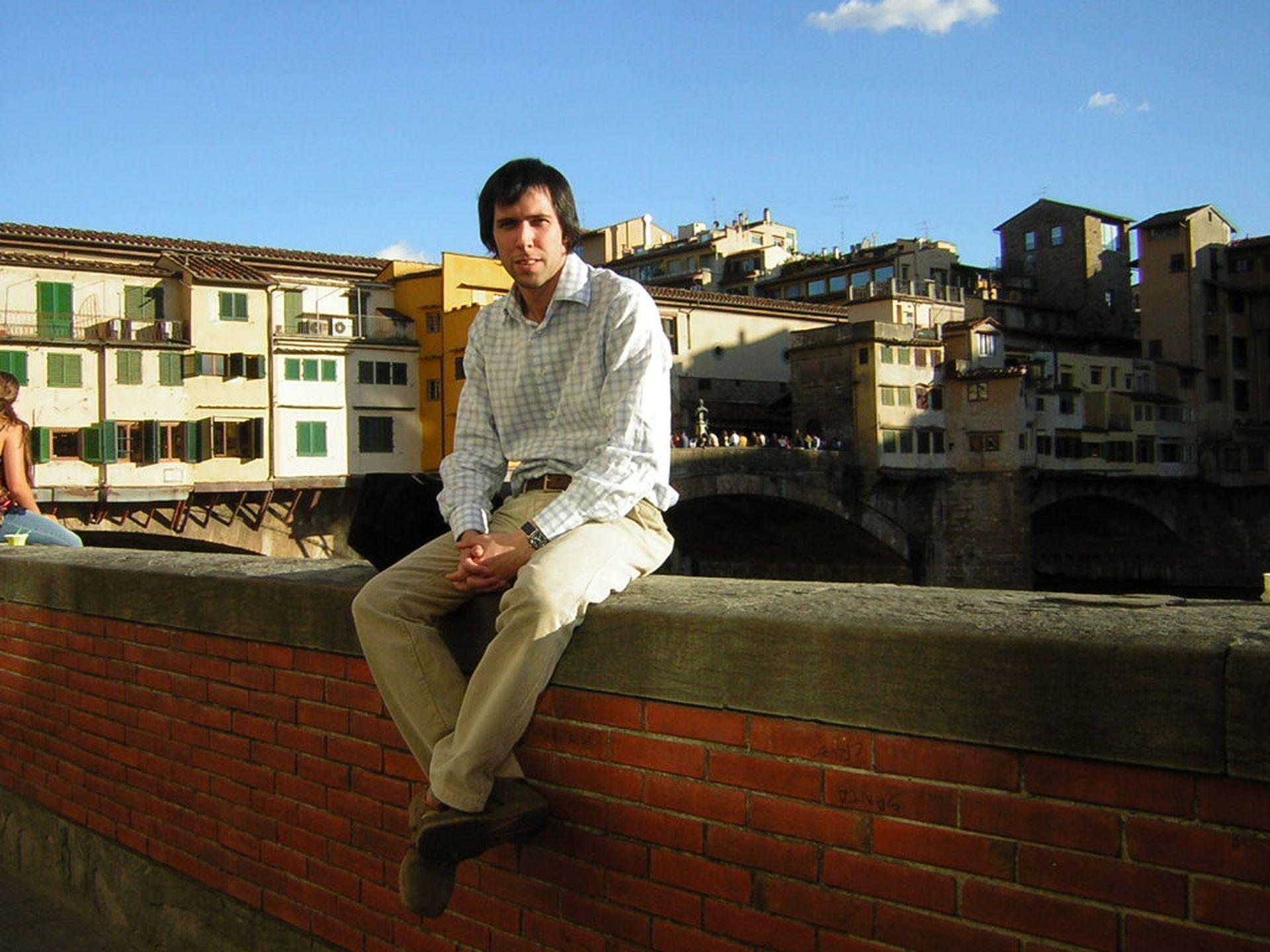 """""""Había pasado varios meses estudiando en Italia y allá tenía una bici con la que iba a todos lados""""."""