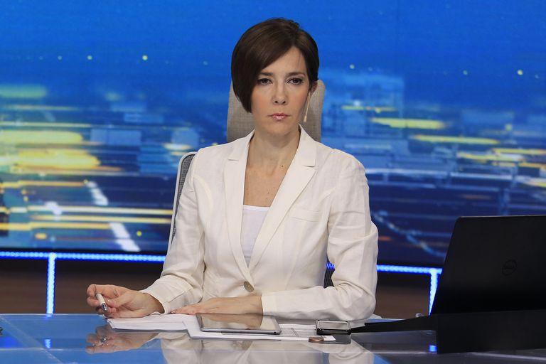 Tensa entrevista. Qué dijo Cristina Pérez tras los cruces con Alberto Fernández