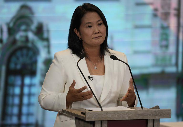 Keiko Fujimori, del partido Fuerza Popular