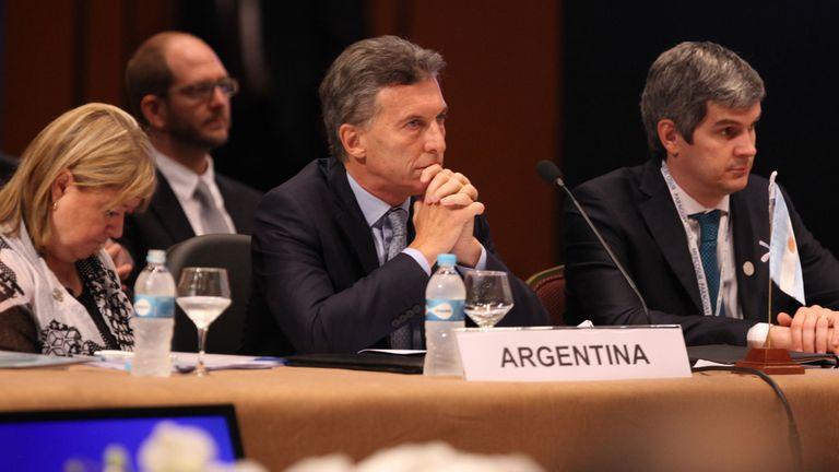 Macri reclamó por los derechos humanos en Venezuela