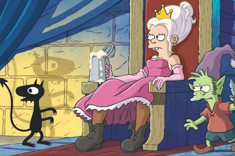 (Des)encanto: viaje paródico a la Edad Media con el sello de Matt Groening