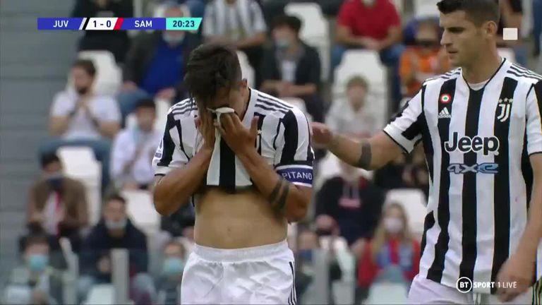 Dybala: golazo, llanto y pedido de perdón en el triunfo de Juventus
