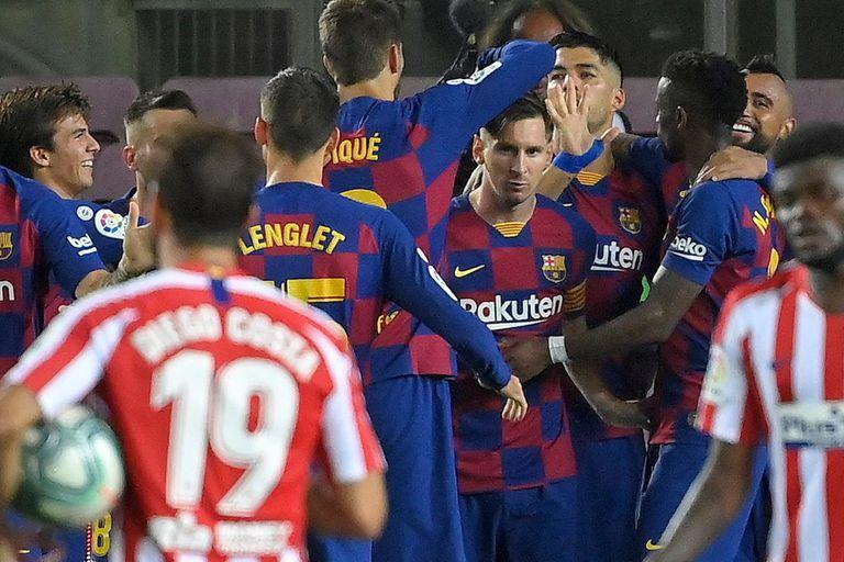 Lionel Messi marcó su gol 700, pero la alegría no fue completa