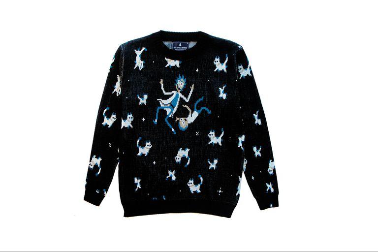 Otro de los sweaters de la colección Rick and Morty