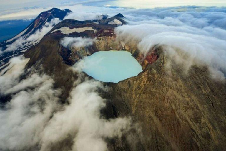 Kamchatka es conocida por su abundancia de minerales.