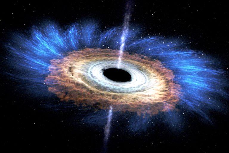 Un grupo de astrónomos consiguió detectar, por primera vez, la radiación procedente de la región del espacio situada detrás del agujero negro supermasivo