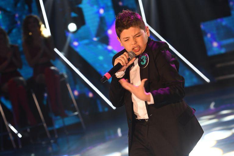 """ShowMatch 2019: el """"mini Sandro"""" de 12 años que conmovió a todos"""