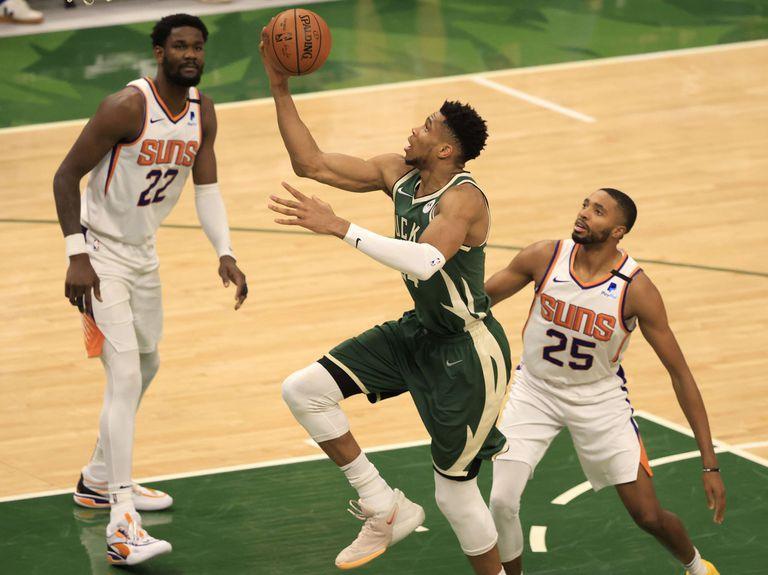 El impresionante récord de Antetokounmpo en las finales de la NBA