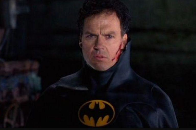 Se filtró la primera imagen de Michael Keaton como Batman