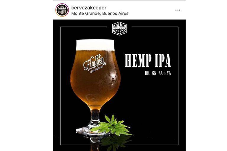 Cervezas con las cualidades organolépticas del cannabis